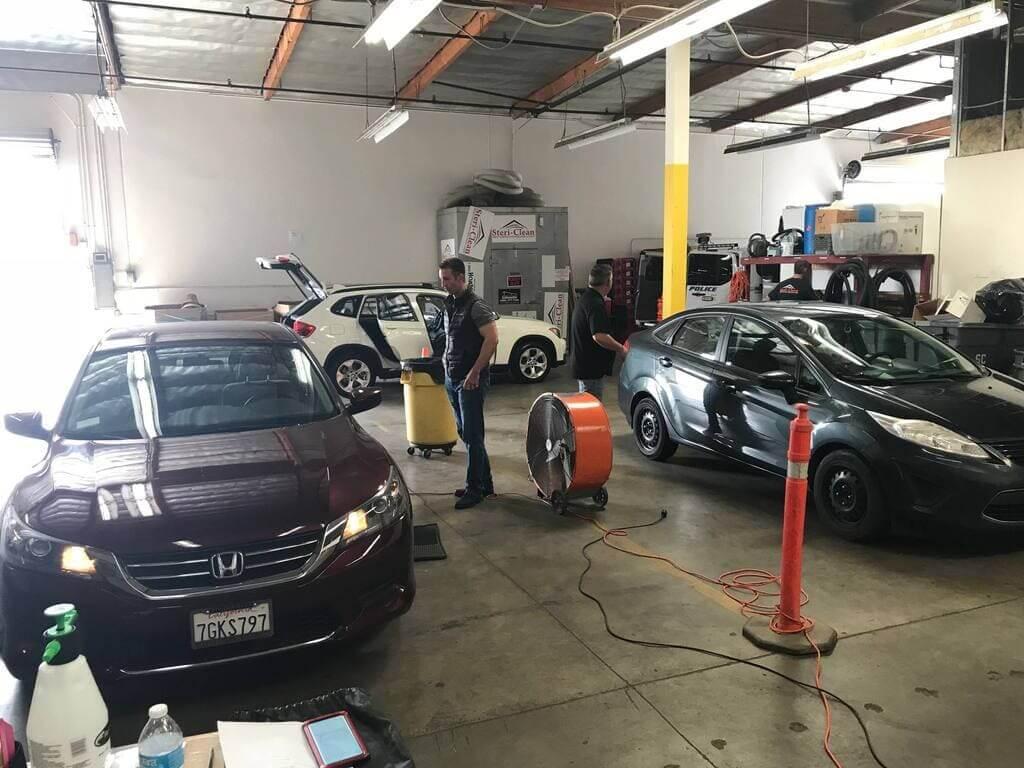 Odor Removal in cars